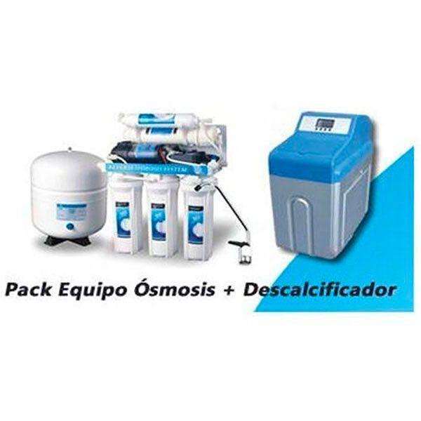 Kit Osmosis Inversa Básica+ Descalcificador 12L