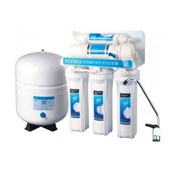 Osmosis inversa b sica dom stica sin bomba aqua y salud for Osmosis inversa domestica