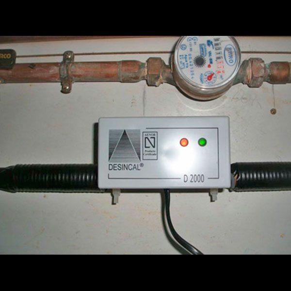 D-2000 DESINCAL instalacion