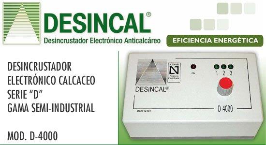 D-4000 DESINCAL-eficiencia energetica