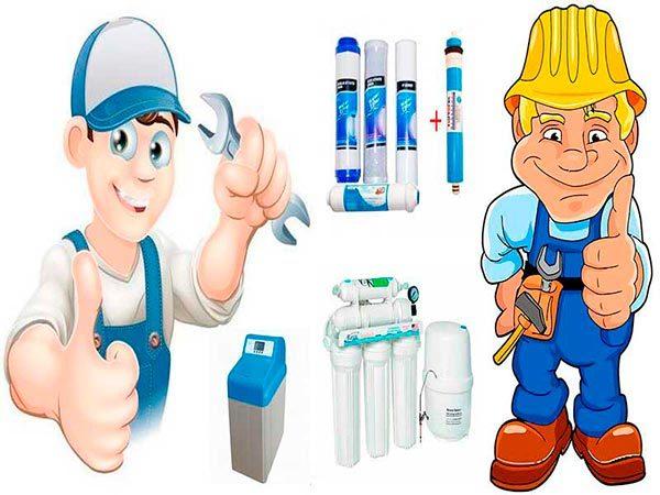 mantenimiento osmosis y descalcificador